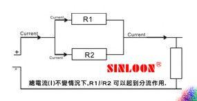 分流電阻器