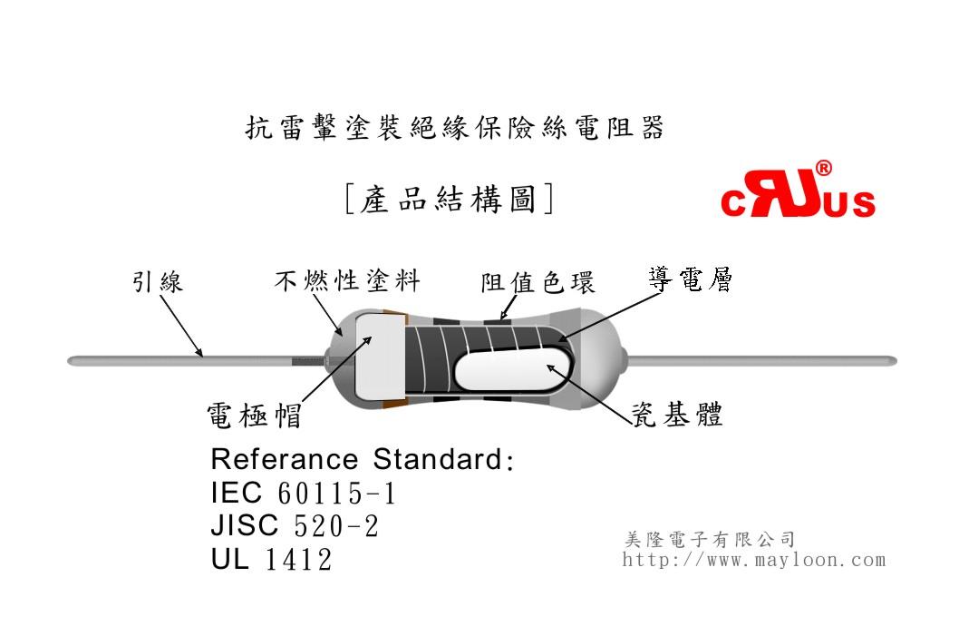 具保险丝和电阻的作用,当电路发生异常故障时,令电路电流不断升高,这